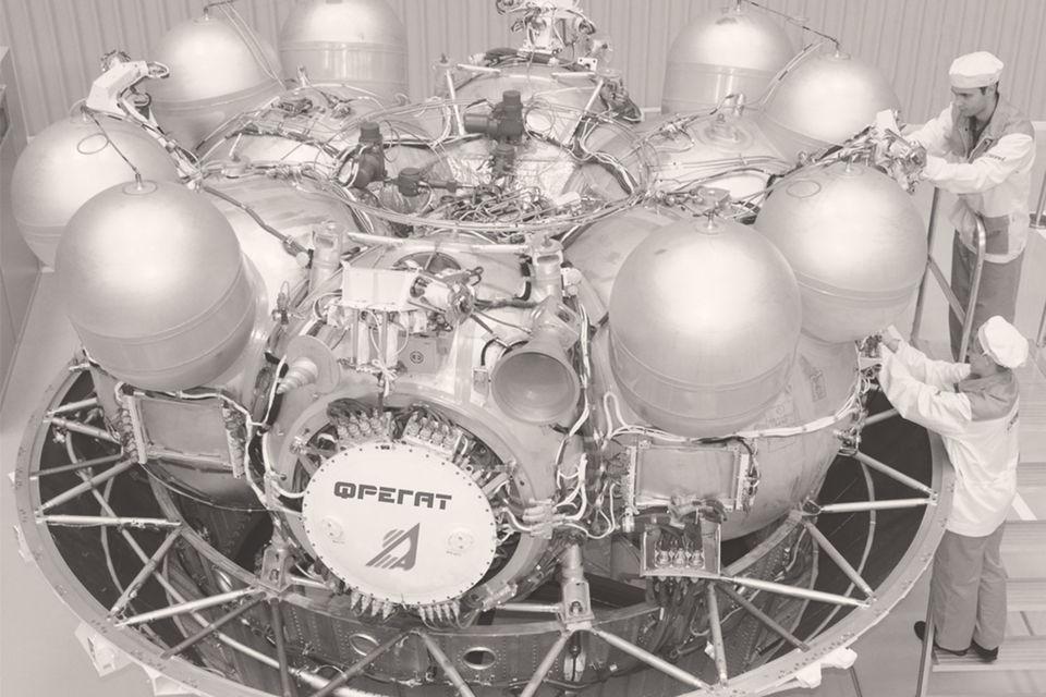 Российские средства контроля космического пространства не зафиксировали места падения «Фрегата» и спутников