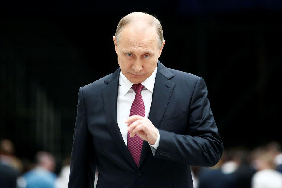 Владимир Путин объявил о намерении участвовать в выборах президента