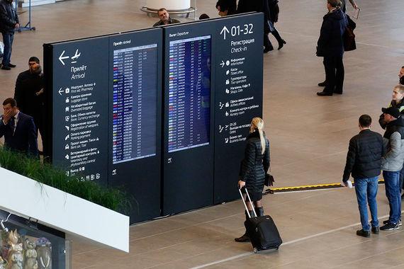 В четверг, 7 декабря, аэропорт заработал на полную мощность – началось обслуживание внутрироссийских и международных рейсов