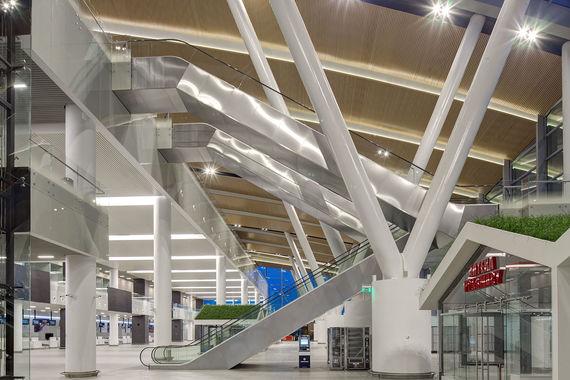 Новый терминал построили к чемпионату мира по футболу в 2018 году