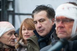 Лидер украинской партии «Рух новых сил» Михаил Саакашвили