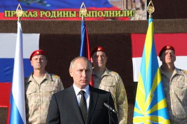 Путин идет на выборы как миротворец
