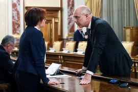 ЦБ и Минфин (на фото их руководители – Эльвира Набиуллина и Антон Силуанов) решают, как возместить бюджету потери средств в спасенных банках