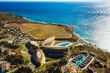 Крымский отель признан лучшим местом для отдыха в мире