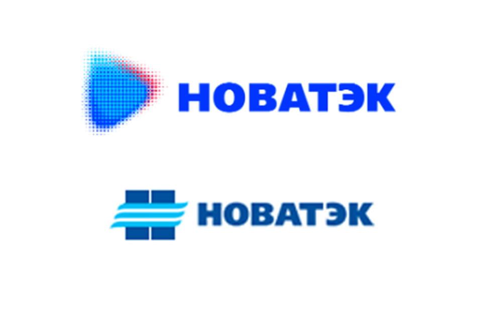 Новый и старый логотип «Новатэка»