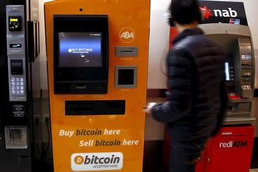 Биткойн банкомат в Сиднее<br>