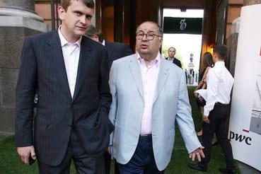 Иван Таврин (на фото слева) и Алишер Усманов стали партнерами в 2009 г.