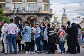 За девять месяцев 2017 г. Петербург посетило 7,2 млн туристов