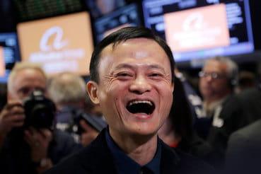 В Сбербанке посчитали, что Alibaba пытается получить доступ к их клиентской базе, не предлагая взамен ничего ценного, говорит источник FT. На фото основатель Alibaba Group Джек Ма