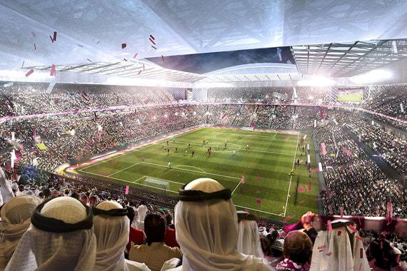 После ЧМ-2022 вместимость стадиона снизится до 22 000 человек. Он станет центром спортивного хаба, рядом с ним возведут центр водных видов спорта, легкоатлетический комплекс, каток, теннисные корты