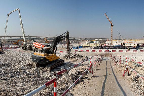 Стадион «Эль Райян» строится в одноименном городке, на нем после ЧМ-2022 будет играть одноименный же клуб, один из самых популярных в Катаре. Вместимость — 40 000 зрителей
