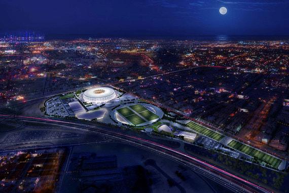 В заявочной книге Катар предлагал построить для ЧМ-2022 12 стадионов. После консультаций с FIFA стране было разрешено провести турнир на восьми объектах (на фото стадион «Эль Тумама»)