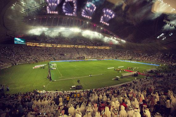 Khalifa International Stadium (Халифа) – первый готовый футбольный  стадион для чемпионата мира 2022 г. в Катаре
