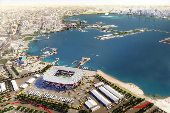 После чемпионата стадион будет полностью разобран — впервые в истории строительства таких крупных спортивных объектов, заявляет оргкомитет ЧМ-2022
