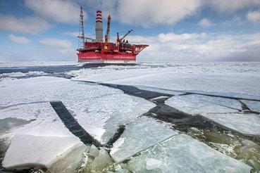 Приразломная – единственная платформа, работающая в российской части Арктики