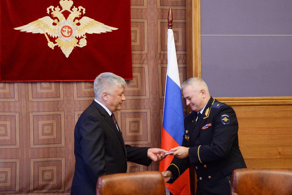 Владимир Колокольцев и Александр Романов