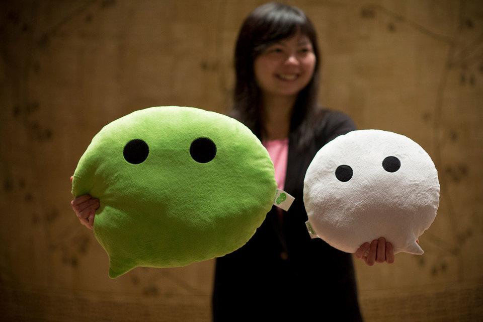 Китайский IT-гигант Tencent запустил сервис WeChat, конкурирующий с магазином Apple