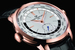 Girard-Perregaux выпускает новую версию одной из своих самых знаменитых моделей - WW.TC с функцией указателя мирового времени. Вращающийся вокруг центральной части циферблата диск с 24-часовой разметкой разделен на две половины, черную и белую, обозначающие, соответственно, ночное и дневное время суток. Все настройки производятся с помощью двух головок, расположенных на уровне отметок «9» и «3 часа»: первая предназначена для установки названия референтного города в положение «12», а вторая вращает часовую и минутную стрелки, причем, 24-часовой диск автоматически синхронизируется с установленным временем