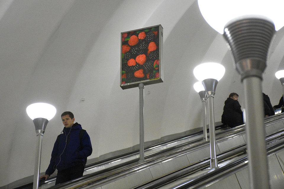 УФАС запретило заключать договор на размещение рекламы в петербургском метрополитене