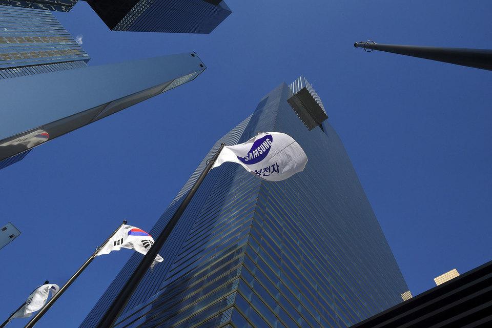 Штаб-квартира Samsung в Сеуле в последнее время находится в центре коррупционного скандала