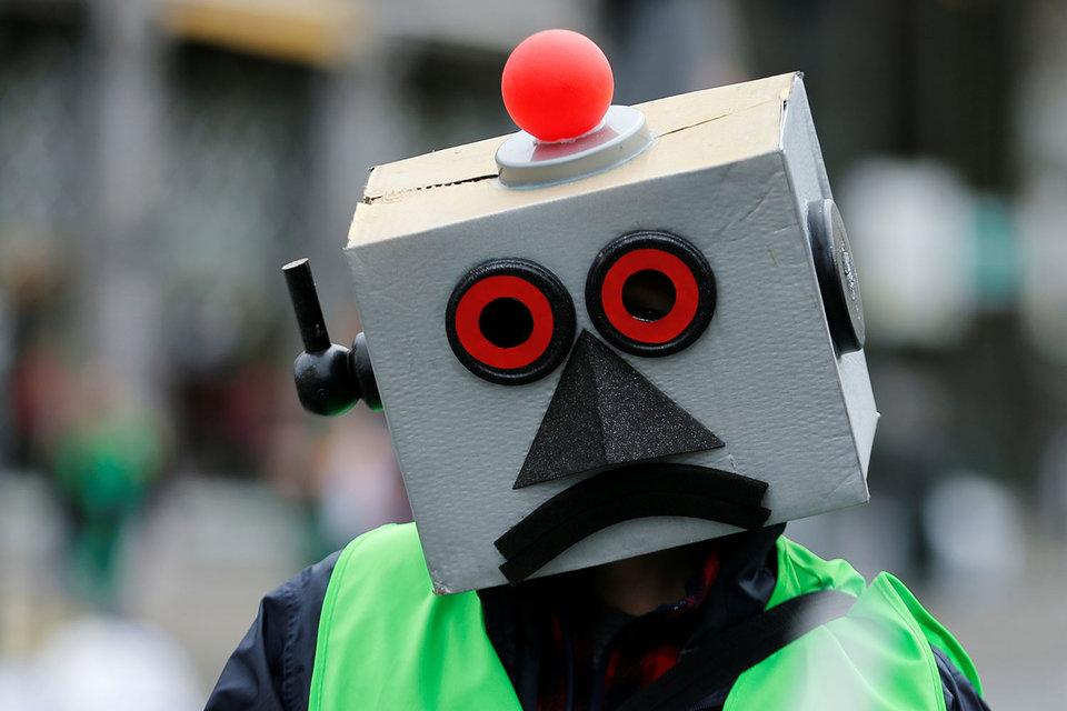 Как и юрлицо, робот – особая юридическая конструкция