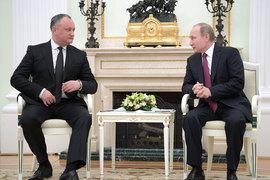 Додон надеется на то, что Россия и Молдавия наладят стратегическое сотрудничество