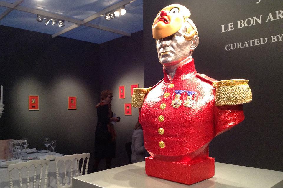 «Если не поставят красного бюста» – новое создание Яна Фабра не может не впечатлить