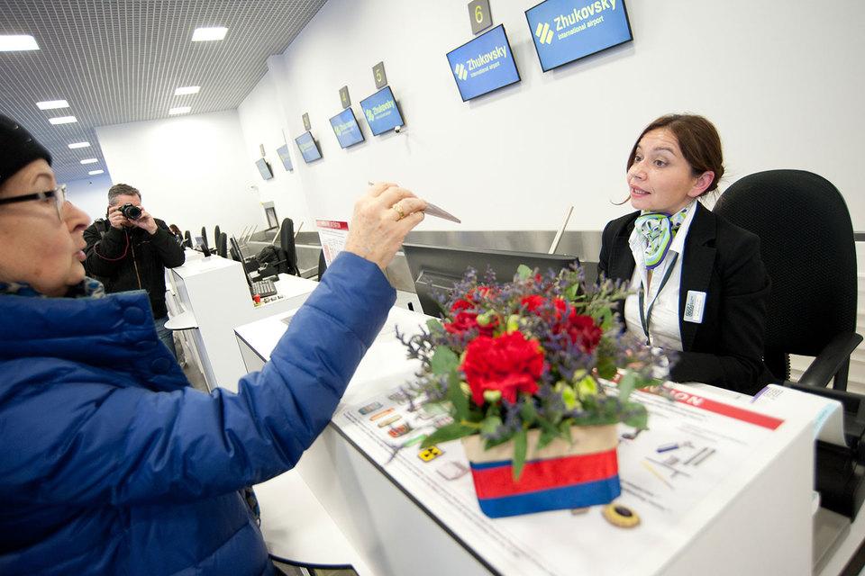 Аэропорт «Жуковский» обслужил в 2016 г. лишь 53 000 пассажиров