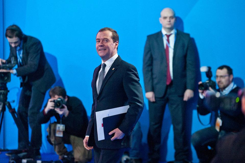 Медведев сохранил пост председателя «Единой России»