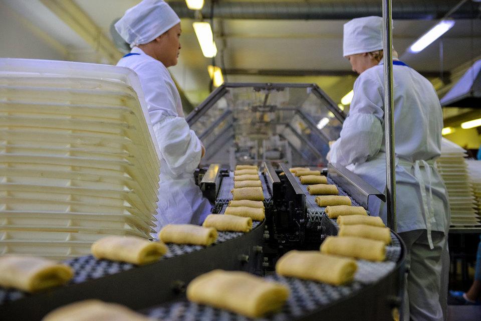 Больше всего в городе выросли пищевая промышленность