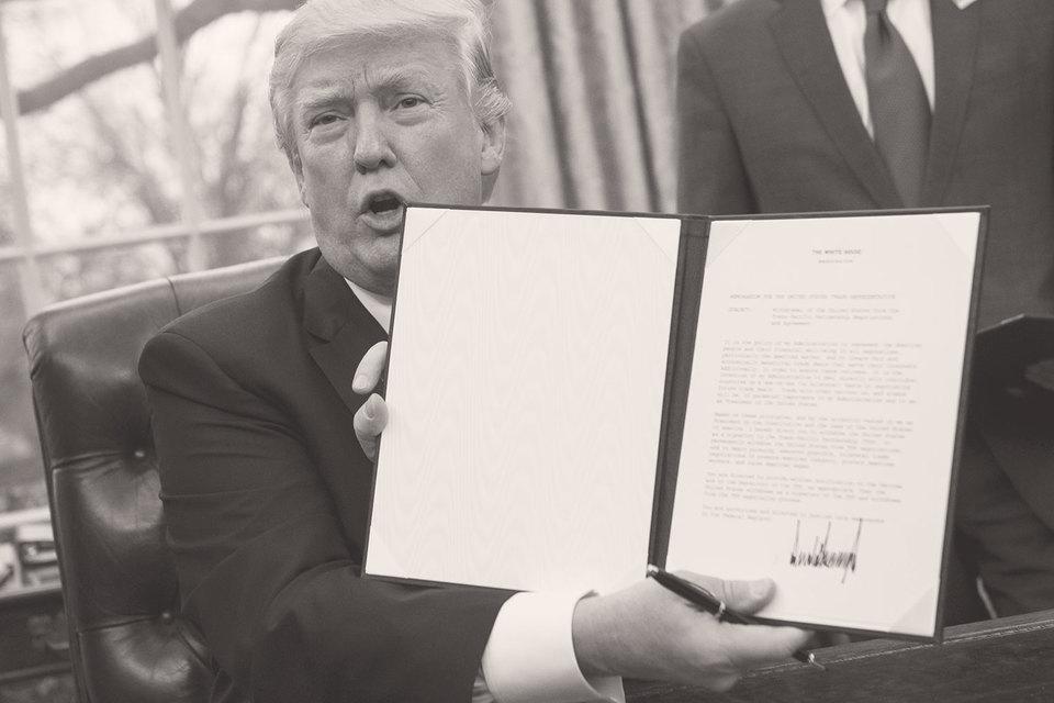 Отказаться от Транстихоокеанского партнерства Дональду Трампу было очень легко