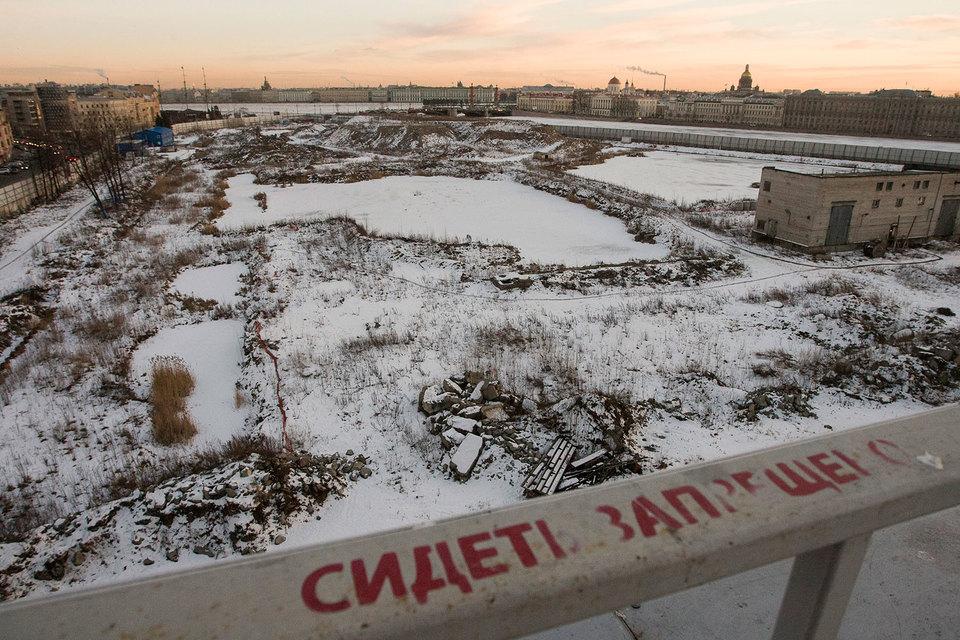 Судебный квартал займет около 10 га на набережной Малой Невы