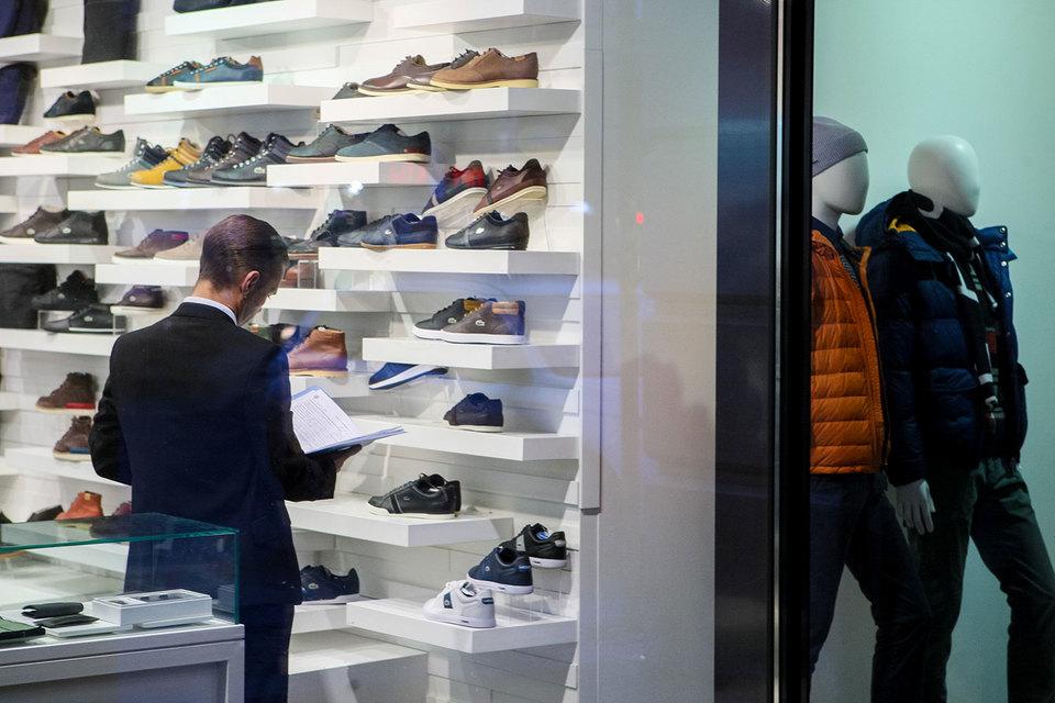 Петербуржцы меньше ходят в торговые центры
