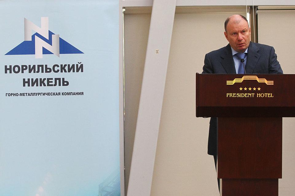 Потанин (на фото) и Березкин купят у «Норникеля» почти 40% в Быстринском ГОКе