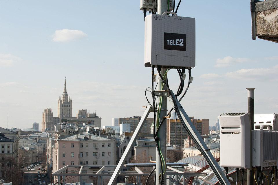 Сеть Tele2 в Москве работает только на технологиях 3G и LTE