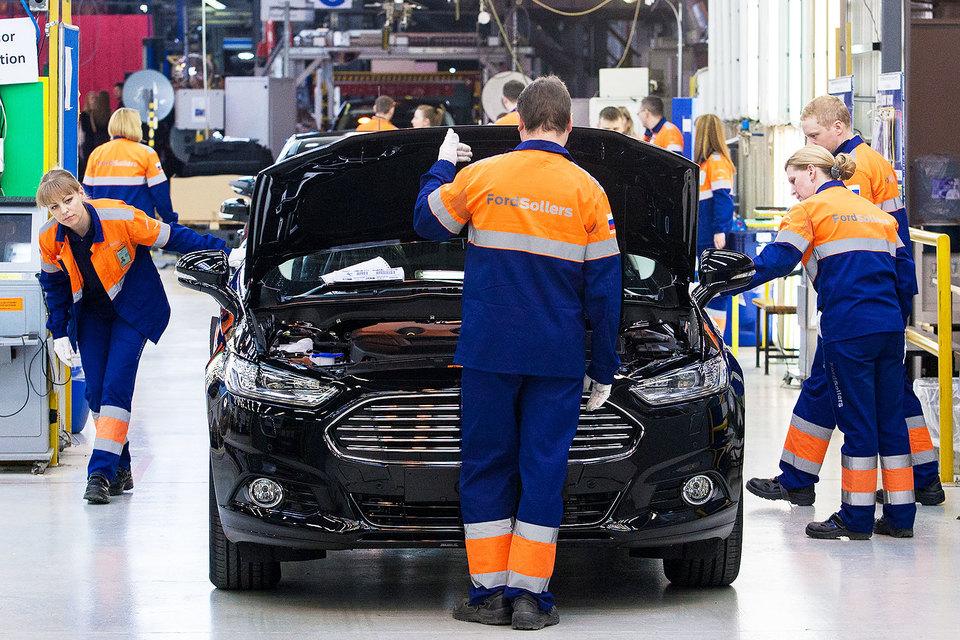 В прошлом году Ford Sollers в 1,5 раза сократил численность сотрудников завода во Всеволожске