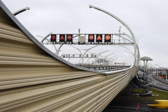 normal 4hw С февраля центральный участок Западного скоростного диаметра в Петербурге станет платным