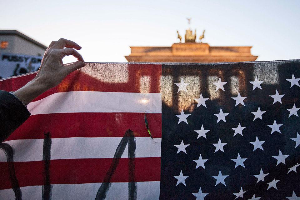 У Германии третий по величине профицит в двусторонней торговле товарами с США