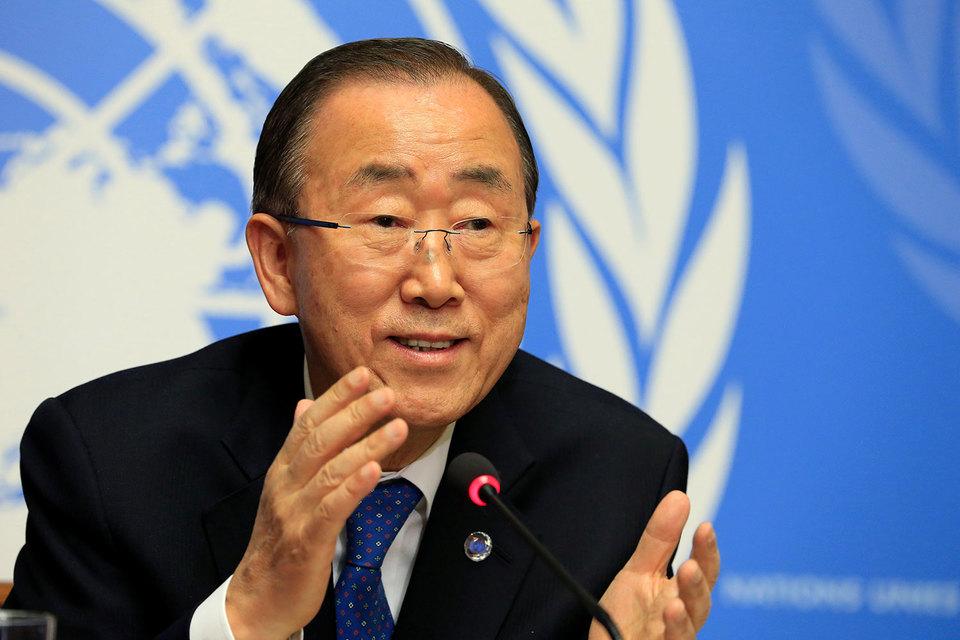 Пан Ги Мун отказался от президентских амбиций