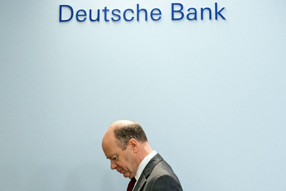 2016 год был «особенно трудным» для Deutsche, утверждает его гендиректор Джон Крайан