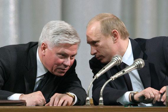 Председатель Верховного суда Вячеслав Лебедев (слева) и президент Владимир Путин видят судебную реформу одинаково