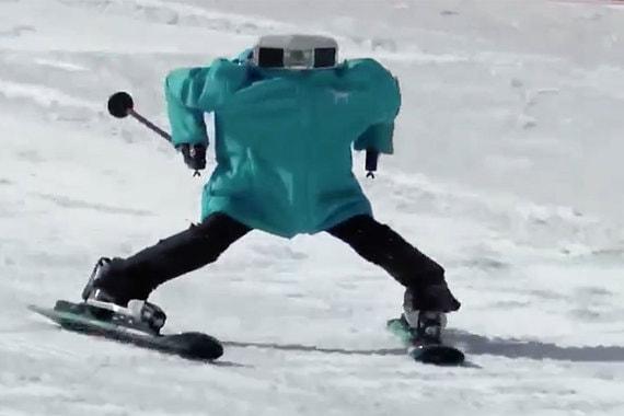 normal 1h52 В Южной Корее прошли первые горнолыжные соревнования среди роботов
