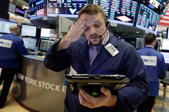 Фондовые рынки упали из-за ускорения инфляции в США
