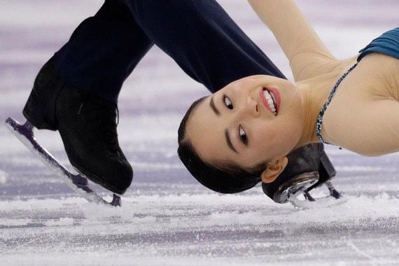 13 февраля 2018 г. Соревнования по фигурному катанию на зимних Олимпийских играх в Пхёнчхане