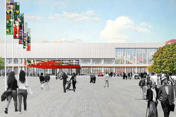 Концепция реконструкции здания Третьяковской галереи на Крымском Валу разработана бюро OMA/AMA Рема Колхаса. Знаменитый архитектор лично представил ее в Москве