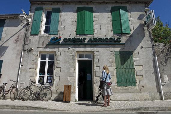 Банк Credit Agricole (Франция). Капитализация –  39,90 млрд евро