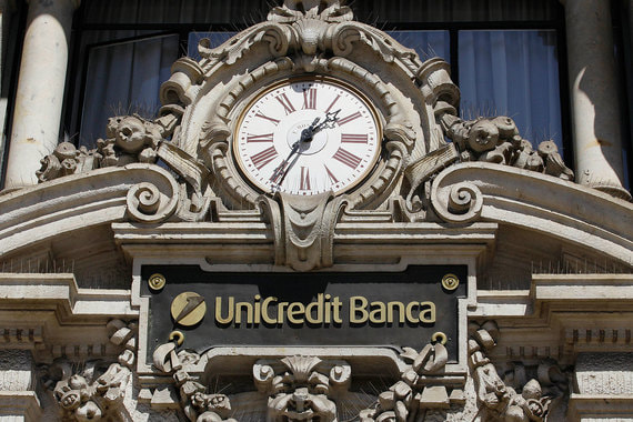 Банк UniCredit (Италия). Капитализация – 38,16 млрд евро