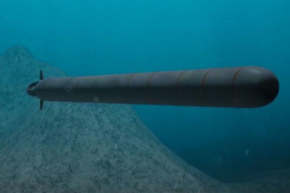 Беспилотный глубоководный аппарат большой дальности. Оснащен ядерной энергетической установкой, может быть укомплектован ядерной и обычной боеголовкой, применяться как против кораблей, так и против береговых целей. Новый класс стратегических вооружений, испытания завершены в 2017 г.