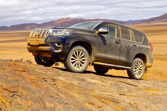 Toyota Land Cruiser Prado: когда дизайн не важен