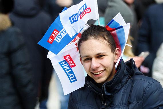 Число сторонников Путина в крупных городах заметно снизилось
